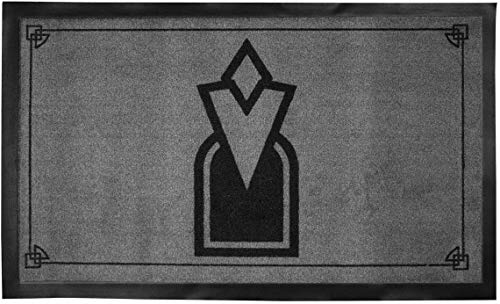 The Elder Scrolls V Skyrim Doormat Pentagram 44 x 75 cm Gaya Entertainment
