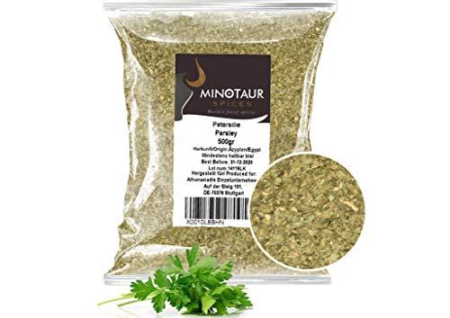Minotaur Spices | Petersilie getrocknet, gerebelt | 2 X 500g (1 Kg)