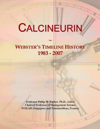 Calcineurin: Webster's Timeline History, 1983 - 2007