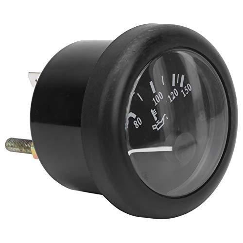Medidor de temperatura del agua, indicador de temperatura del aceite de 52 mm, medidor electromagnético de medición de grados de calor de aceite diésel(DC24V)