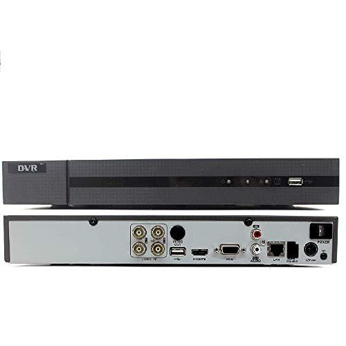 Hilook DVR-204U-K1 Ch 8MP 5MP 4MP 1080P HD-TVI Hybrid CCTV DVR con 1TB WD HDD púrpura - Negro
