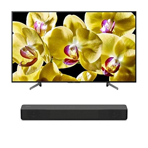 """Sony XBR-55X800G BRAVIA XBR55X800G Series - 55"""" Class (2019 Model) with SONY HT-S200F 2.1 Channel Soundbar with Integrated Subwoofer"""