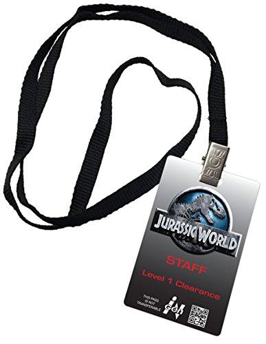 Jurassic World Staff Novelty ID Badge Prop Costume