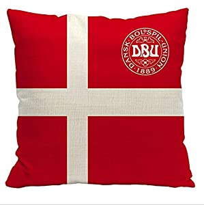 Garden Cushion Cover, Throw Pillow Covers, Waterproof Pillow Covers, Cotton And Linen, Square Pillow, Suitable For Living Room Sofa, Bedroom, Garden Pillowcases For Patio, 45cmx45cm 45*45cm Denmark