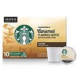 Starbucks Caramel Flavored Medium Roast Single Cup Coffee for Keurig Brewers, 1 Box of 10 (10 Total K-Cup...
