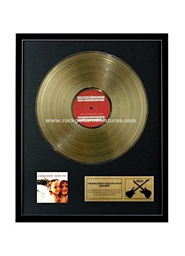 Rock Guitar Miniatures RGM1113 Smashing Pumpkins - Siamese Dream Gold Disc 24K placcato LP 12