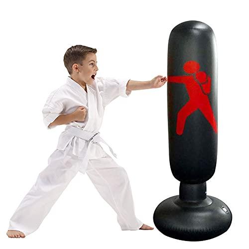 Saco de Boxeo Niños - JanTeelGO Punching Ball 160cm...