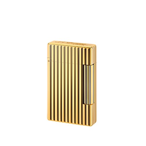 S.T. Dupont accendino d-020803iniziale–bronzo dorato Lines
