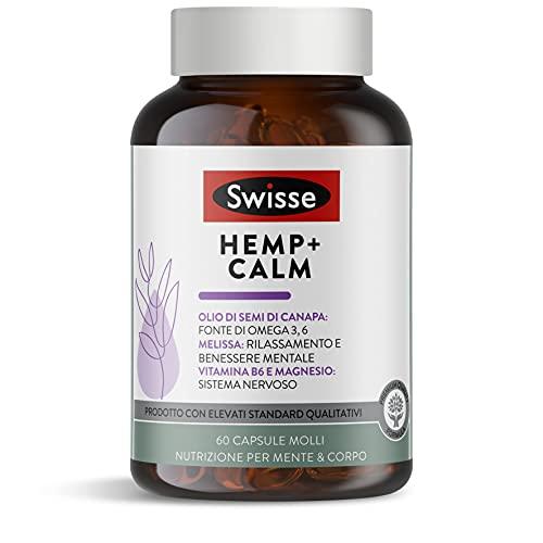 Swisse Hemp+ Calm 60 compresse