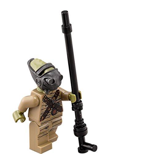 LEGO Star Wars Force Awakens Encontrador en minifigura Jakku – Teedo con Barra de guía (75148)