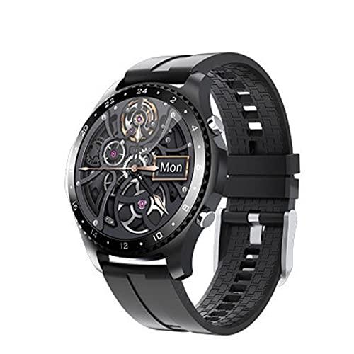 Smart Watch para Hombres Y Mujeres, Pantalla Táctil Completa con Modos Deportivos Monitor de Frecuencia Cardíaca Monitor de La Presión Arterial Contador de Sueño GPS Rastreador de Actividades.