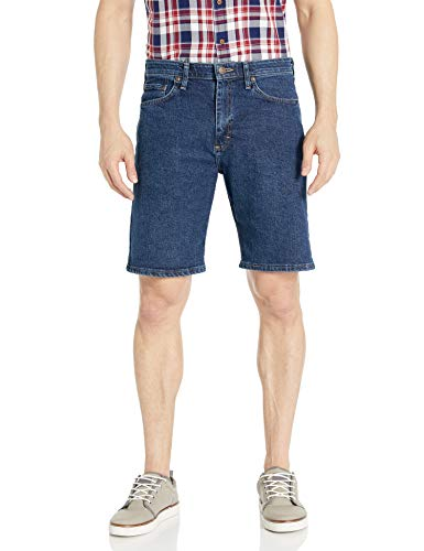 Wrangler Authentics Men's Comfort Flex Waistband Short, dark stonewash, 42