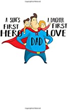 Notebook: Father Superhero Love Father's Day Fun Gift 120 Pages, A4 (About 8,5X11 Inches / Letter), Blank, Diary
