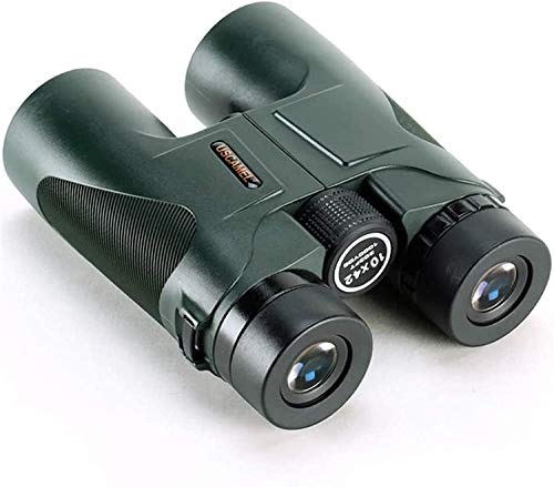 10x42 Binoculars for Adults, HD Professional/Waterproof Fogproof Binoculars with Low Light Night Vision, Durable and Clear FMC BAK4 Prism Lens, for Birds Watching Hunting Traveling Outdoor Sports