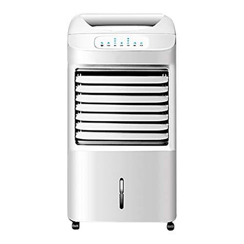 XPfj Bianco Refrigeratore Ventilatore Senza Tubo,Portatile Condizionatore d'Aria Fredda Calda, Argoclima Relax 7h Timer Umidificante Purificatore Base con Ruote Freeze Fan Plus