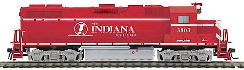 Unbekannt Spur H0 - MTH Diesellok EMD GP38-2 Indiana Railroad