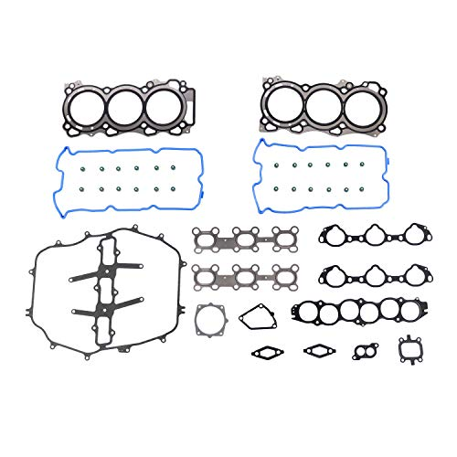 DNJ HGS646 MLS Head Gasket Set for 2003-2008 / Infiniti, Nissan / 350Z, FX35, G35, M35 / 3.5L / DOHC / V6 / 24V / 3498cc / VQ35DE