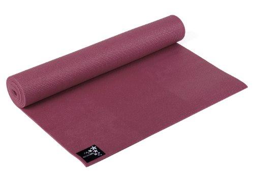 Yogistar Basic Materassino da Yoga, Rosso (Bordeaux)