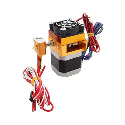 Anycubic MK8Estrusore Hotend, 0,4mm, con ugello, testina di stampa, filamento da 1,75mm, per stampante 3D