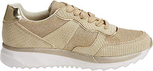 XTI 47792, Zapatillas para Mujer, Dorado (Gold), 39 EU