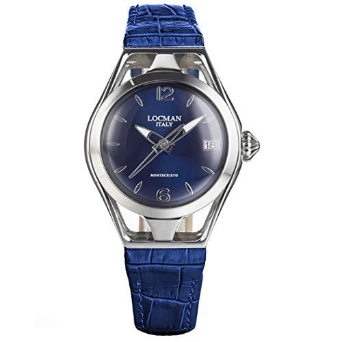 Locman Italy Reloj de mujer Montecristo Lady Azul Ref. 0526