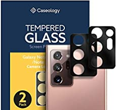Caseology Lens Protector for Samsung Galaxy Note 20 Ultra Camera Lens Protector 2 Pack (2020) - Black