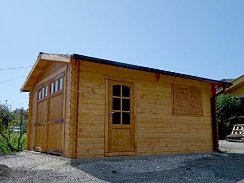 DEKALUX Garage in Legno 4X5 44MM