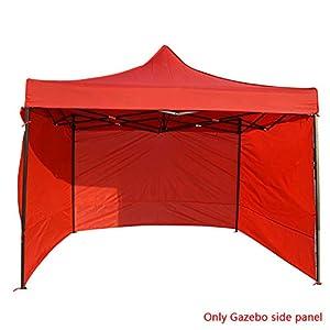 Yiran Panel Lateral de la Carpa, Gazebo Panel Lateral Accesorios para Paredes Laterales de la Tienda Carpa Exterior Panel Lateral de la glorieta Paño Oxford Resistente a los Rayos UV