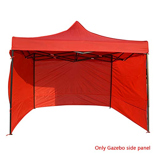 HINMAY 3x3m Anti-UV Oxford Cloth Garden Gazebo Marquee Tent Side Panels, Fully Waterproof for Outdoor Wedding Garden Party ​(Without Coated Steel Frame)