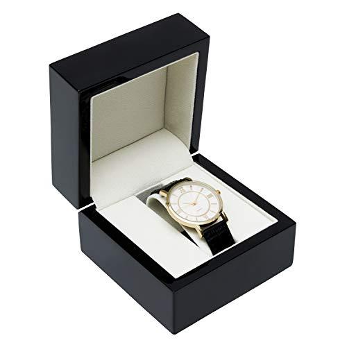 Noble Verlobungsring/Armband/Ohrring/Anhänger/Verlobungsring, Schwarz Watch Box