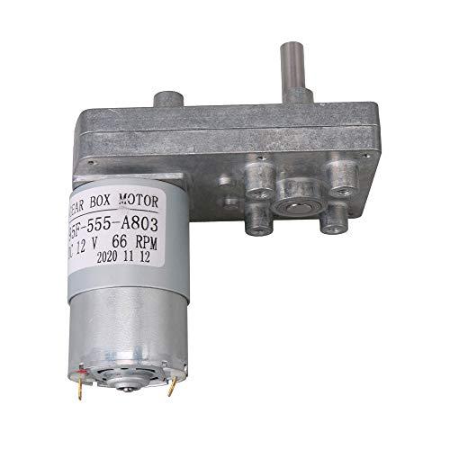 Silber 12V 66RPM Platz High Torque-Getriebe Getriebe elektrischen Antriebsmotor