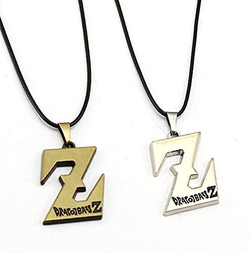 WSBDZYR Co.,ltd Collar de Moda 1PCSNecklace Z Colgante 2017 Cadena de Cuerda Fresca Regalo de niño Joyería de Anime Caliente