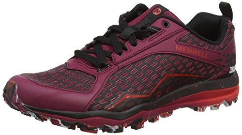 Merrell Damen All Out Crush Tough Mudder Traillaufschuhe, Rot (Beet Red), 42 EU