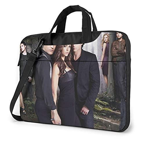 XCNGG Vampire Diaries Borsa per laptop Borsa per tablet Custodia protettiva Custodia protettiva Borse a tracolla 13 pollici