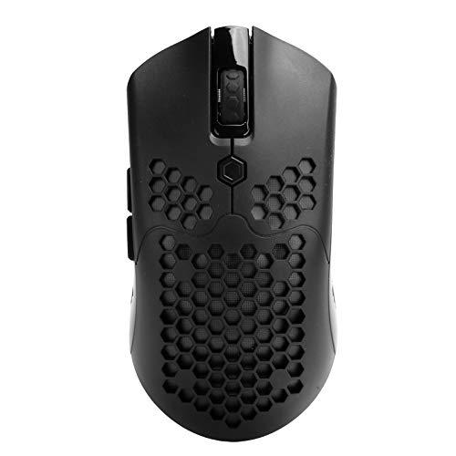 Dpofirs X2 Wireless Gaming Mouse, 16 RGB LED Light Optical Mouse, 12000 dpi 7 Botones programables Ratones Gamer, 5 Niveles dpi Ajustamente Ergonomic Mouse
