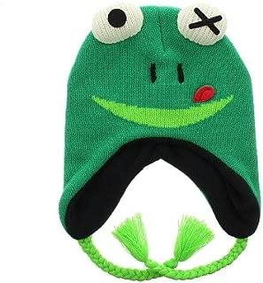 Milani Super Cute, Plushy Monster Knit Winter Earflap Cap Hat