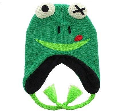 frog winter hat