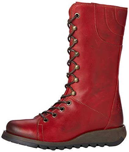 Fly London Ster768fly, Damen Stiefel, Rot (Red), 40 EU (7 UK)