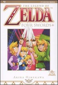 Four swords. The legend of Zelda (Vol. 2)