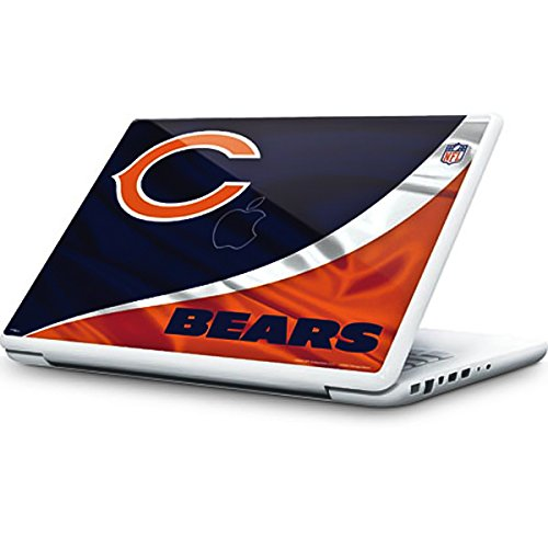 Skinit Decal Laptop Skin Compatible with MacBook 13-inch - Officially Licensed NFL Chicago Bears Design