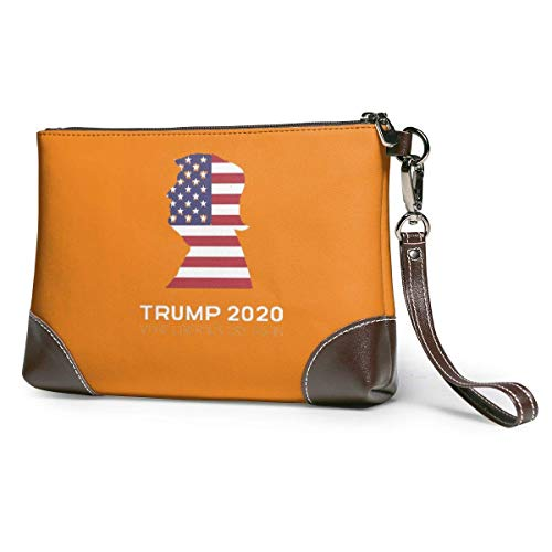 ngxiandaz Lassen Sie Liberale wieder weinen Frauen Männer Leder Geldbörse Clutch Bag - Small Phone Purse Handtasche