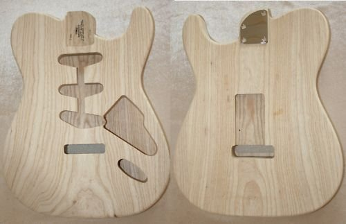TMG Swamp Ash Replacement Body ROCKIT/Telly Mixed Style