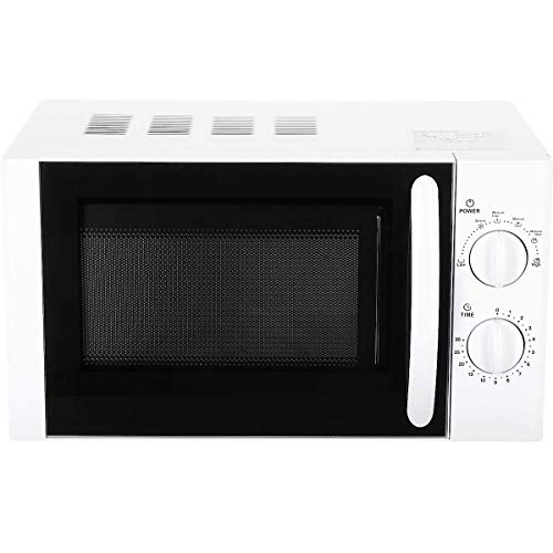 Clas Ohlson  Microwave Oven - 700W, 20L Capacity, With 6 Power Mode, Mechanical Timer, 45.2x34.2x26.2cm