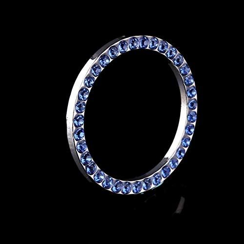 Yubingqin Botón de interruptor de arranque para automóvil, anillo decorativo de diamantes de imitación para coche, SUV, accesorios decorativos (color: otros)