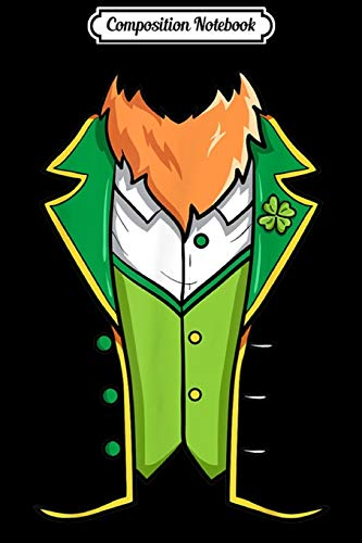 Composition Notebook: Irish Saint Patricks day leprechaun outfit Journal/Notebook Blank Lined Ruled 6x9 100 Pages