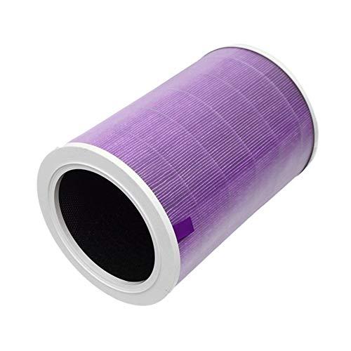 Reunion Filtre à air Filtre à Cartouche Element Fit for Xiaomi Mi Purificateur d'air 1/2 / Pro / 2S 1pc (Color : Purple)