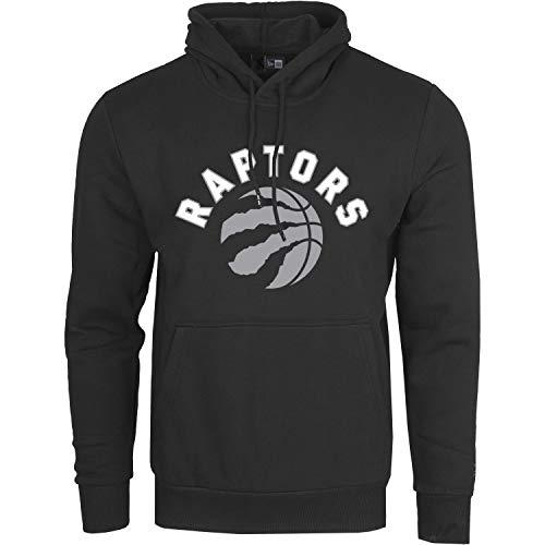 New Era Toronto Raptors - Felpa con Cappuccio da Uomo, Uomo, Felpa con Cappuccio, 11546161, Nero , XL