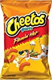Flamin' Hot Puffs Cheese Flavored Snacks 8.5 oz (Pack of 3)