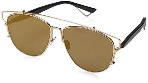 Dior Diortechnologic 83 Gafas de sol, Gold Black, 57 para Mujer