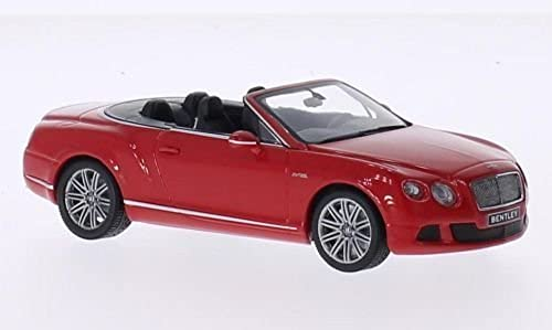 Bentley Continental GTC Speed, rouge, 2012, Modellauto, Fertigmodell, Minichamps 1 43